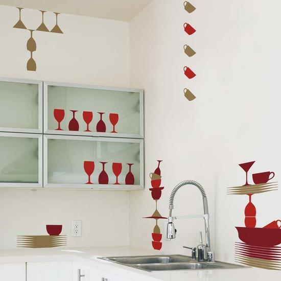 Aparador Espelhado Bronze ~ Adesivo de Parede para Cozinha Papel e Decoraç u00e3o Decoraç u00e3o