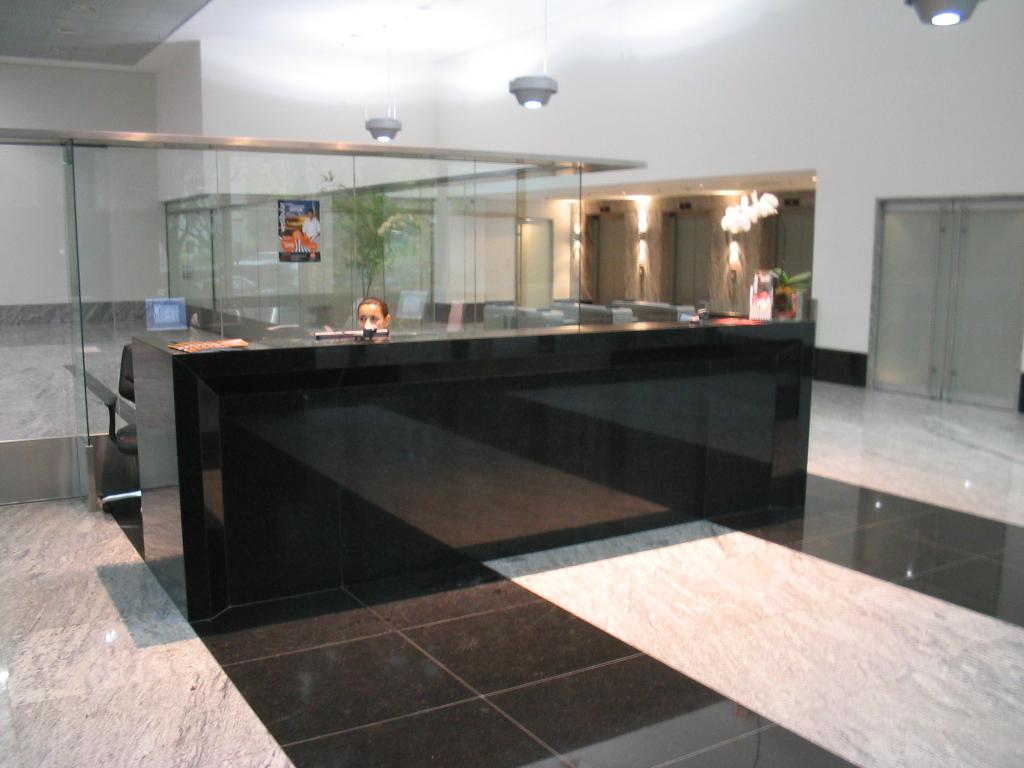Balcão de Granito Móveis e Cozinha Decoração #7E644D 1024 768