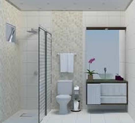 Banheiro Social Simples : Banheiro social fotos e modelos decora??o