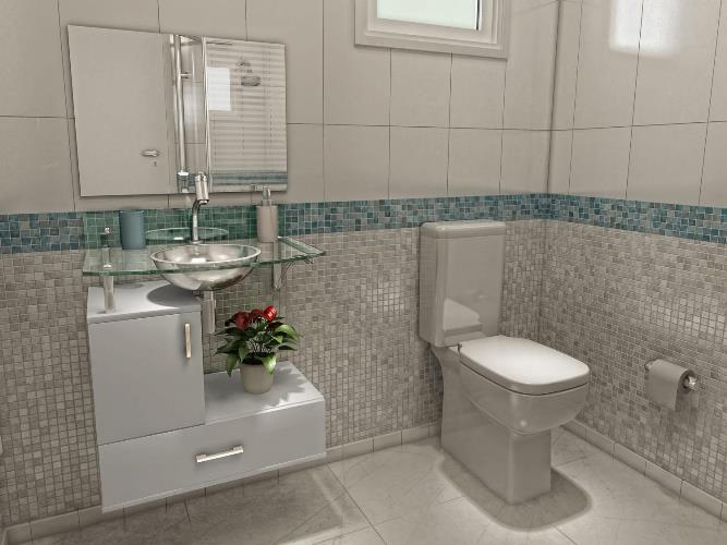 Banheiros Modernos De 2015 : Banheiros modernos projetos e decora??o