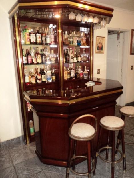 Bar para sala m veis e decora o decora o for Bar de madera para sala