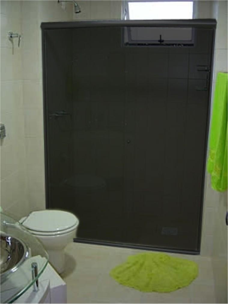 Box de Vidro Fumê  Vidraçaria e Blindex  Decoração # Pia De Banheiro De Vidro Fume