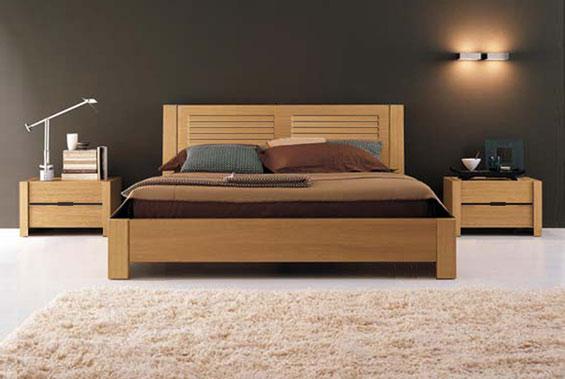 Digital iphone cama de madeira de casal for Camas king size modernas