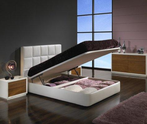 Cama moderna para apartamento casal e solteiro decora o - Camas modernas japonesas ...