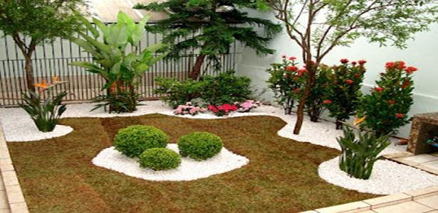Um Jardim Simples E Barato No Quintal 5 Pictures to pin on Pinterest