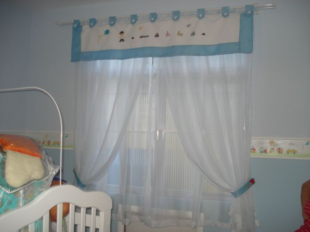 Cortina para beb quarto e decora o decora o - Cortinas para bebes ...