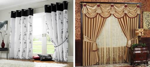 Cortinas decorativas modelos e modernas decora o for Cortinas decorativas