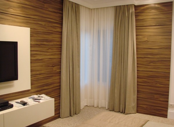 Cortina para quarto e casal modelos e modernas decora o - Persianas bonitas ...