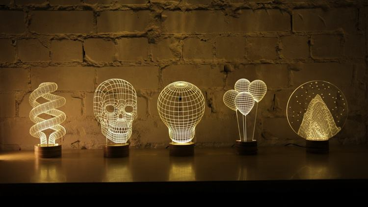 decoracao para lampadas:Decoração com Lâmpadas – LED e Luminárias