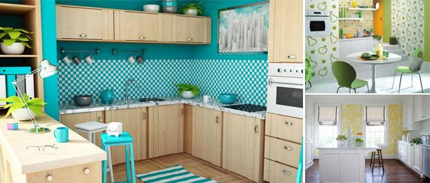 Decora o de parede de cozinha pastilhas e adesivos - Pintar azulejos cocina opiniones ...