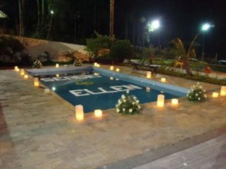 Decora o de piscina ilumina o e pedra decora o for Iluminacao na piscina e perigoso
