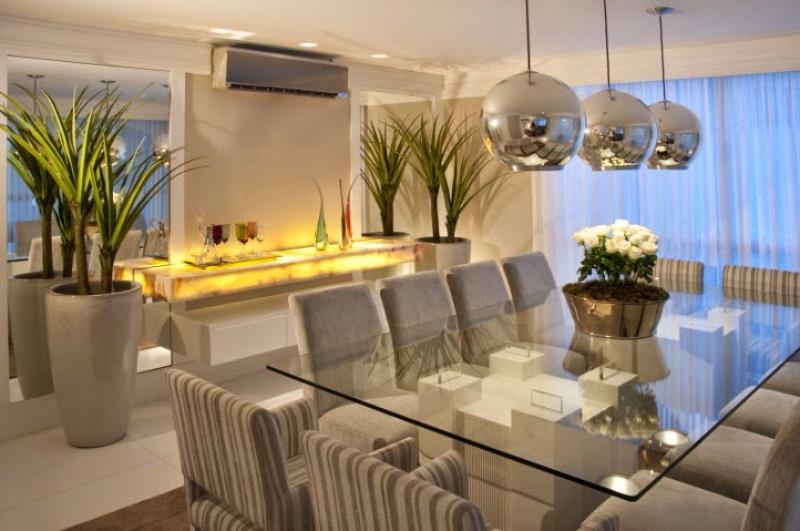 Decoracao De Sala Moderna ~ decoracao de sala modernaDecoração Moderna para Sala de Jantar