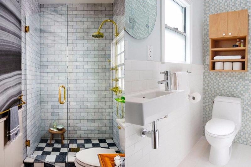 Dicas para Decorar Banheiro Apertados  Decoração -> Banheiro Decorar Dicas