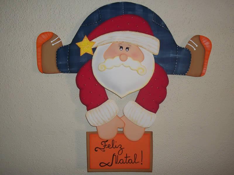 Enfeites de Natal em EVA Artesanato e Guirlanda Decoraç u00e3o -> Decoração Em Eva Natal