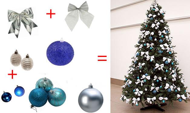 decoracao arvore de natal passo a passo:Enfeites para Árvore de Natal – Bolas e Estrelas