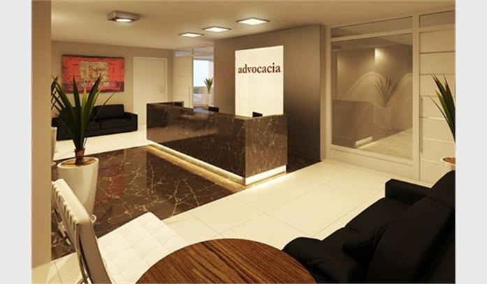 decoracao de interiores escritorio advocacia:Escritório de Advocacia Planejado – Móveis e Modernos