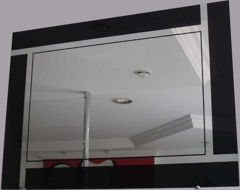 Espelhos decorativos decora o e vidro decora o for Comprar cuadros grandes baratos
