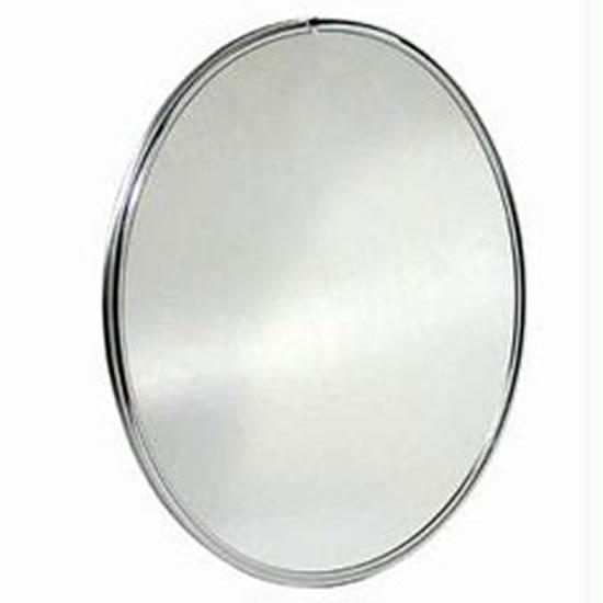 Espelho Oval para Banheiro  Acessórios e Modelos  Decoração -> Armario De Banheiro Com Espelho Oval