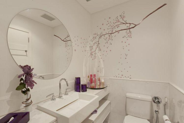 decoracao banheiro acessórios:Espelho Oval para Banheiro – Acessórios e Modelos