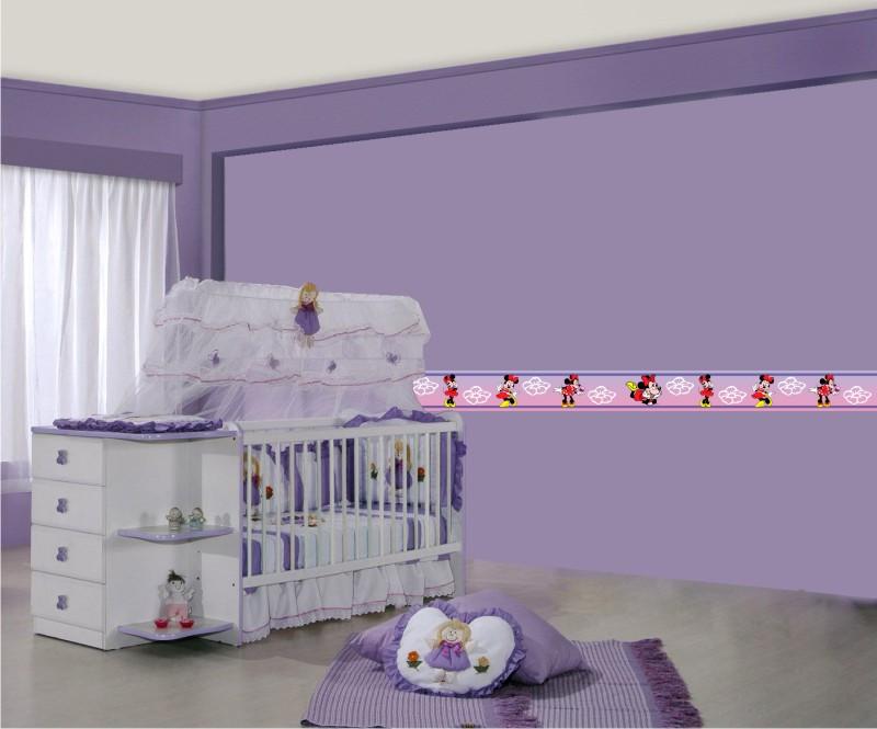Faixa Quarto Bebe ~ Faixa para Quarto de Beb u00ea Decoraç u00e3o e Papel Decoraç u00e3o
