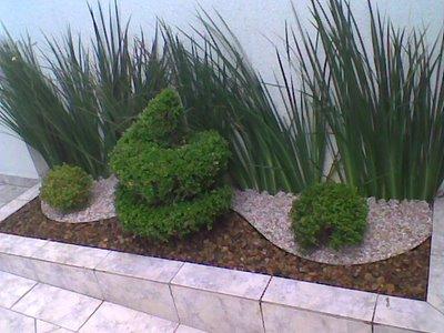 Jardim Simples - Decora??o e Pedras Decora??o