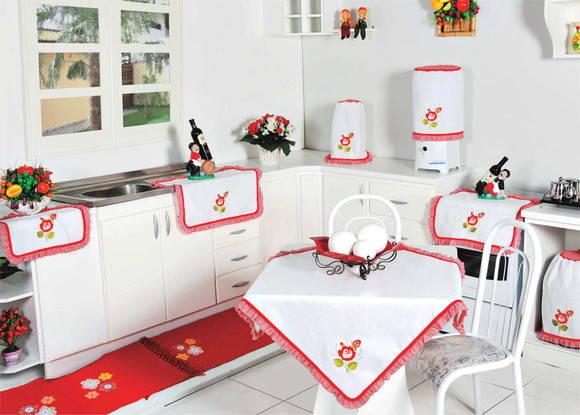decorar cozinha jogos:Jogo de Cozinha – Decorado e Bordado