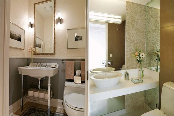 Lavabo Pequeno Decorado - Banheiro e Modernos Decora??o