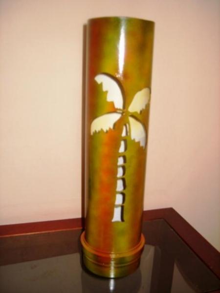 Artesanato Em Florianopolis Sc ~ Luminária de Bambu Artesanal e Rústica Decoraç u00e3o