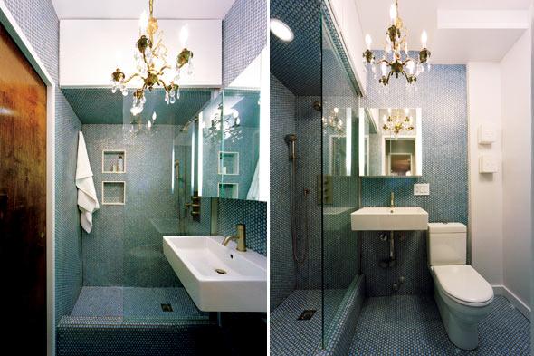 Lustre para Banheiro  Arandelas e Luminárias  Decoração # Lustre Banheiro Moderno