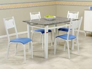 Mesa barata para cozinha redonda e quadrada decora o for Mesas de television baratas