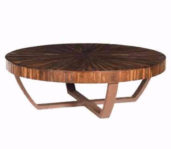 Mesa de centro redonda v rios modelos vidro e madeira decora o - Mesas de centro redondas amazon ...