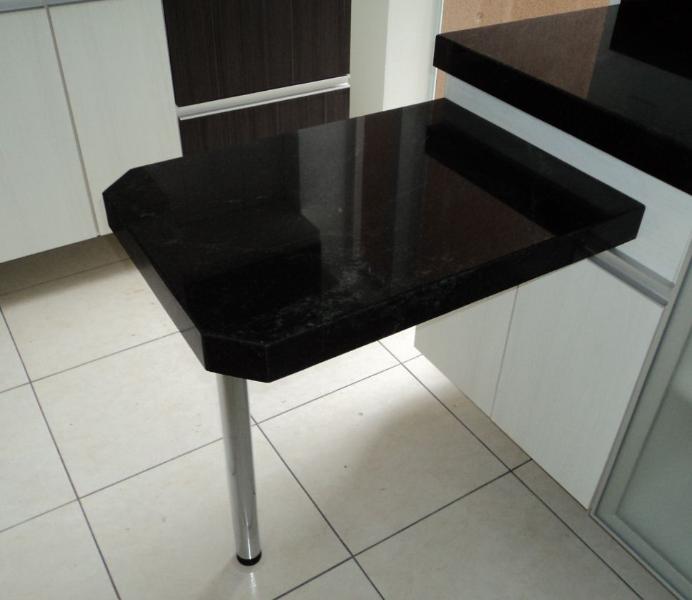 Mesa pequena inox para cozinha id ias do - Mesas para ordenador pequenas ...