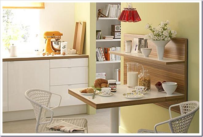 Mesa pequena para cozinha arm rio e ambiente decora o for Mesa comedor pequena