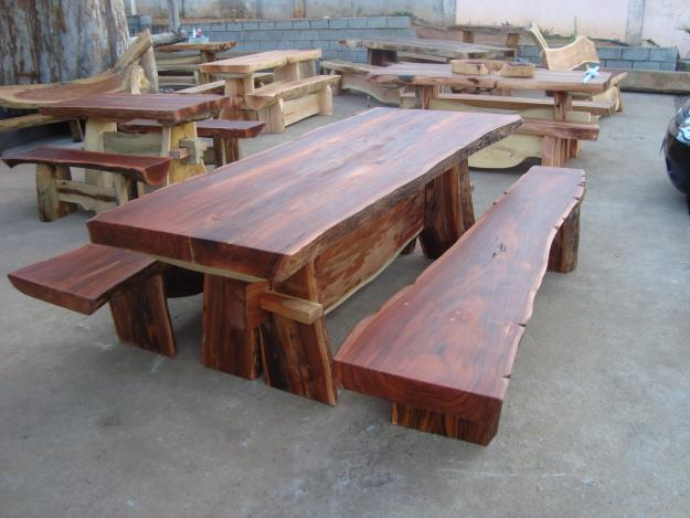 Mesa de centro madera roble oscura mesa de centro en madera roble car interior design - Mesa rustica madera ...