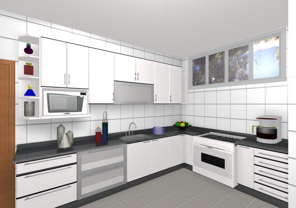 Móveis para Cozinha - Mesa e Armário | Decoração