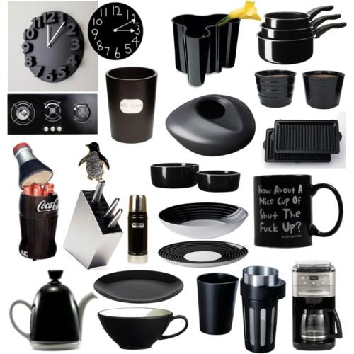 Objetos decorativos para cozinha rel gio e potes decora o for Objetos decorativos para salon