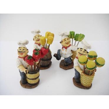 Objetos decorativos para cozinha rel gio e potes decora o for Objetos decorativos para oficina