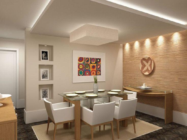 Paredes da sala decoradas salas decoradas com escadas - Paredes decoradas modernas ...