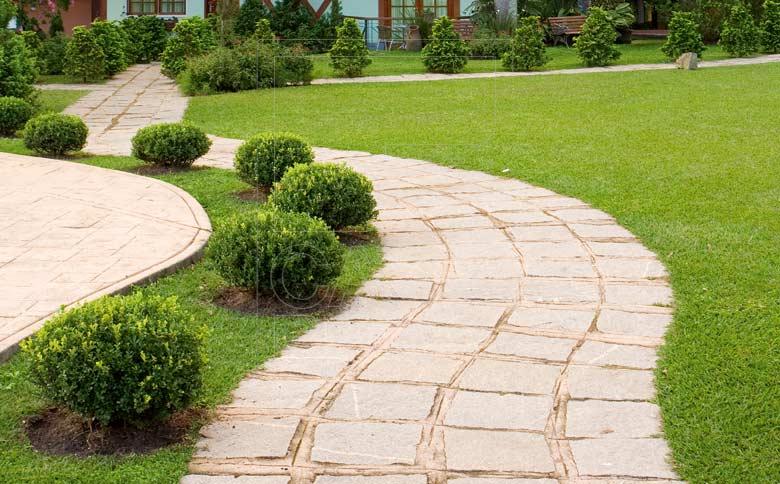 Pedras para Jardins  Mármore e Ornamentais  Decoração