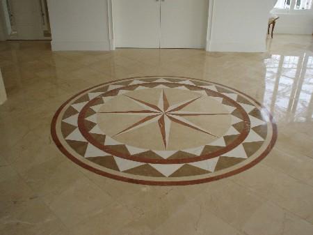 Pisos decorados mosaico e azulejo decora o for Pisos decorados con encanto