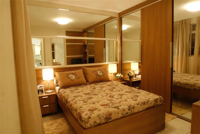 Quarto de Casal Planejado Closet e Móveis Decoração ~ Quarto Casal Com Moveis Planejados