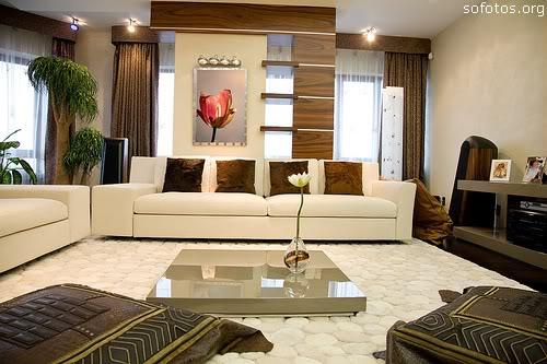 Sala De Estar Planejada ~ Sala de Estar Planejada  Móveis e Sofá  Decoração