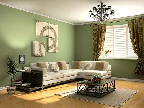 Decoracao De Sala Verde Com Marrom ~ Sala Verde  Decoração e Móveis  Decoração