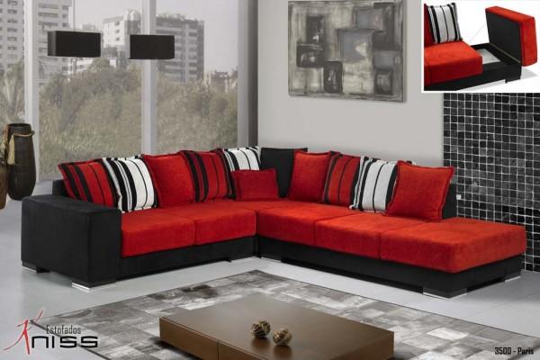 Sof moderno cinco lugares modelos e modulares decora o - Modelos de sofas modernos ...