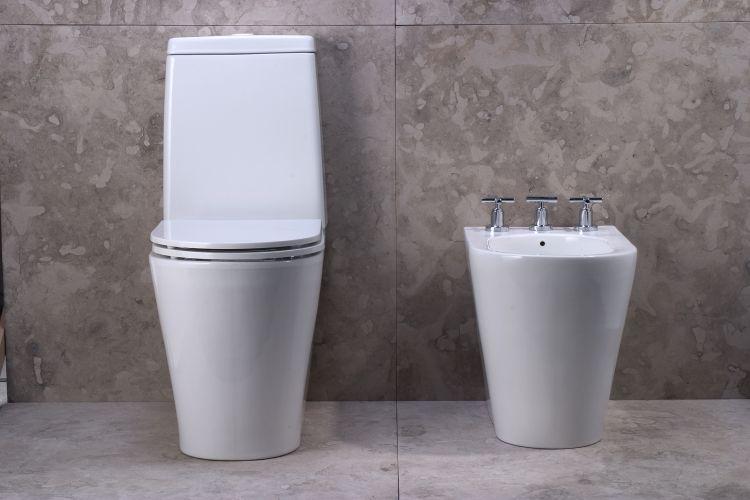 Vaso sanit rio moderno banheiro e cubas decora o for Sanitarios modernos