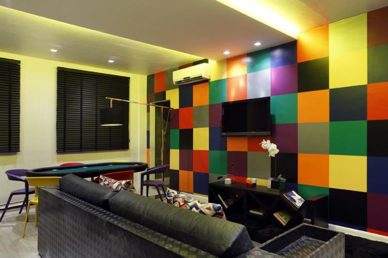 uma boa opção para quem deseja tornar a parede de sua sala uma