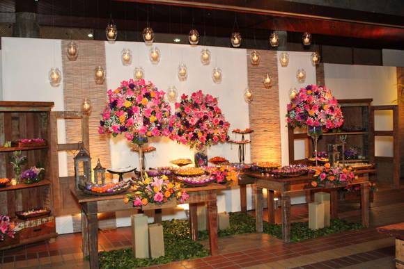 decoracao festa rustica:Decoração Rústica para Festas – Arranjos e Móveis