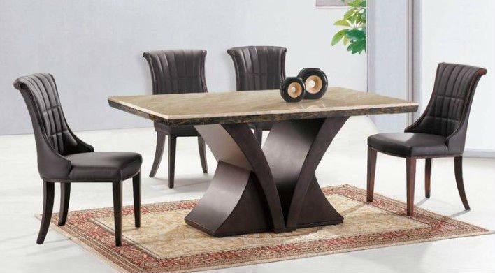 Mesa de m rmore para sala de jantar modelos e modernas - Mesas de marmol de comedor ...