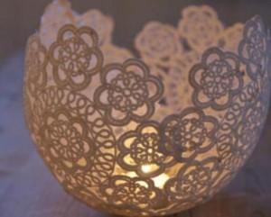 Luminária com Barbante