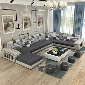 Sala com Sofá Moderno